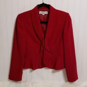 Tahari Petite Red Jacket